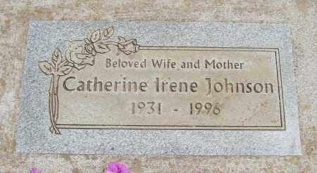 JOHNSON, CATHERINE IRENE - Polk County, Oregon | CATHERINE IRENE JOHNSON - Oregon Gravestone Photos