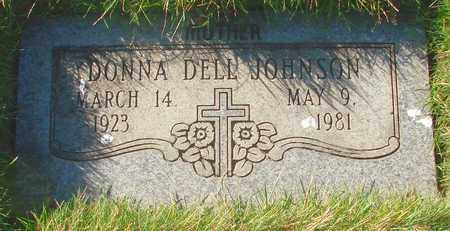 JOHNSON, DONNA DELL - Polk County, Oregon | DONNA DELL JOHNSON - Oregon Gravestone Photos