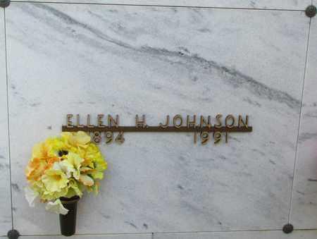 JOHNSON, ELLEN H - Polk County, Oregon | ELLEN H JOHNSON - Oregon Gravestone Photos