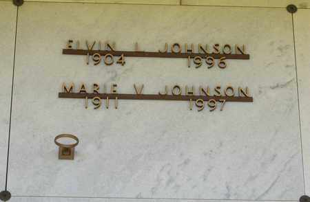 JOHNSON, ELVIN L - Polk County, Oregon | ELVIN L JOHNSON - Oregon Gravestone Photos