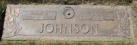 JOHNSON, FRANK E - Polk County, Oregon | FRANK E JOHNSON - Oregon Gravestone Photos