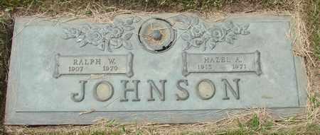 JOHNSON, RALPH W - Polk County, Oregon | RALPH W JOHNSON - Oregon Gravestone Photos
