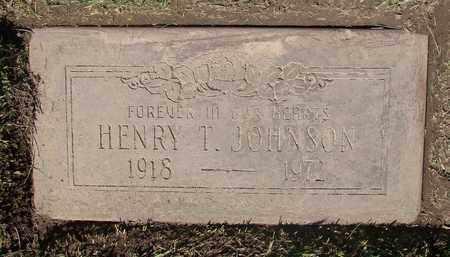JOHNSON, HENRY T - Polk County, Oregon | HENRY T JOHNSON - Oregon Gravestone Photos