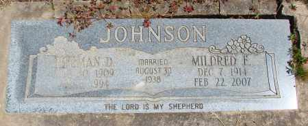 JOHNSON, HERMAN DAVID - Polk County, Oregon | HERMAN DAVID JOHNSON - Oregon Gravestone Photos