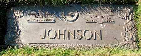JOHNSON, VIRGINIA R - Polk County, Oregon | VIRGINIA R JOHNSON - Oregon Gravestone Photos