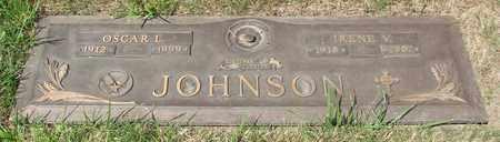 JOHNSON, IRENE V - Polk County, Oregon | IRENE V JOHNSON - Oregon Gravestone Photos