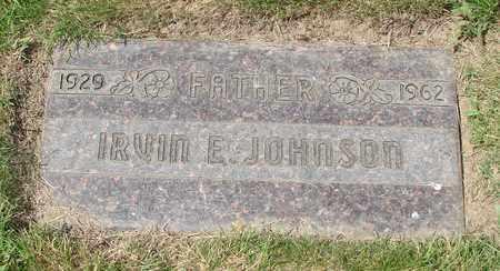 JOHNSON, IRVIN E - Polk County, Oregon   IRVIN E JOHNSON - Oregon Gravestone Photos