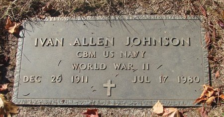 JOHNSON, IVAN ALLEN - Polk County, Oregon | IVAN ALLEN JOHNSON - Oregon Gravestone Photos