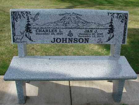 JOHNSON, CHARLES L - Polk County, Oregon | CHARLES L JOHNSON - Oregon Gravestone Photos