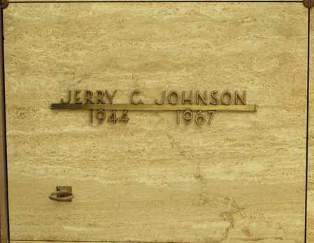 JOHNSON, JERRY C - Polk County, Oregon | JERRY C JOHNSON - Oregon Gravestone Photos