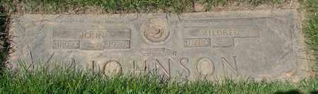 JOHNSON, MILDRED - Polk County, Oregon | MILDRED JOHNSON - Oregon Gravestone Photos