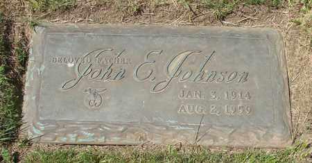 JOHNSON, JOHN E - Polk County, Oregon | JOHN E JOHNSON - Oregon Gravestone Photos