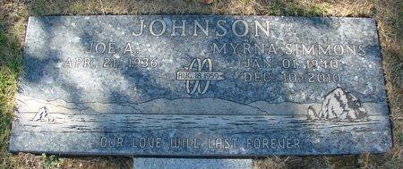 JOHNSON, MYRNA - Polk County, Oregon | MYRNA JOHNSON - Oregon Gravestone Photos