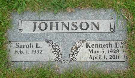 JOHNSON, KENNETH E - Polk County, Oregon | KENNETH E JOHNSON - Oregon Gravestone Photos