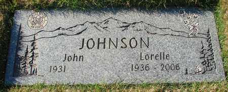 JOHNSON, JOHN - Polk County, Oregon | JOHN JOHNSON - Oregon Gravestone Photos