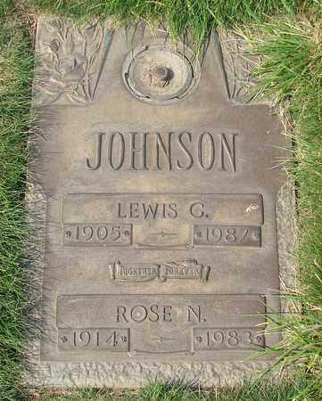 JOHNSON, ROSE N - Polk County, Oregon | ROSE N JOHNSON - Oregon Gravestone Photos
