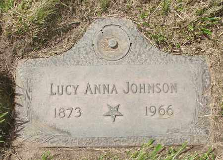 JOHNSON, LUCY ANNA - Polk County, Oregon | LUCY ANNA JOHNSON - Oregon Gravestone Photos