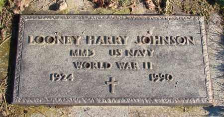 JOHNSON, LOONEY HARRY - Polk County, Oregon | LOONEY HARRY JOHNSON - Oregon Gravestone Photos