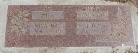 JOHNSON, LEO F - Polk County, Oregon | LEO F JOHNSON - Oregon Gravestone Photos