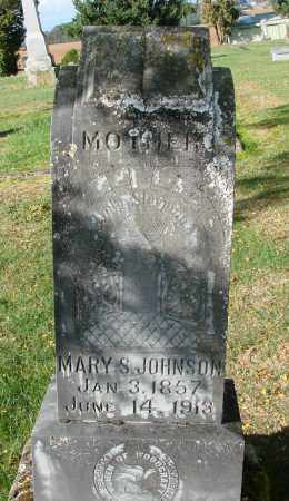 JOHNSON, MARY S - Polk County, Oregon | MARY S JOHNSON - Oregon Gravestone Photos
