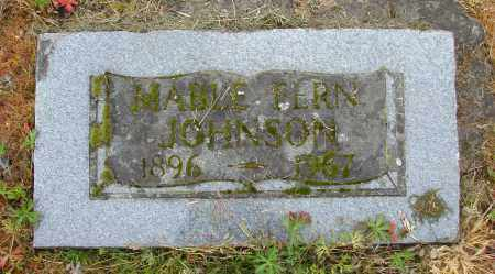 JOHNSON, MABLE FERN - Polk County, Oregon | MABLE FERN JOHNSON - Oregon Gravestone Photos