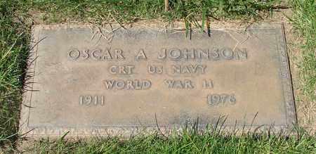 JOHNSON, OSCAR A - Polk County, Oregon | OSCAR A JOHNSON - Oregon Gravestone Photos