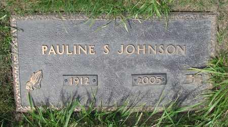 JOHNSON, PAULINE S - Polk County, Oregon | PAULINE S JOHNSON - Oregon Gravestone Photos
