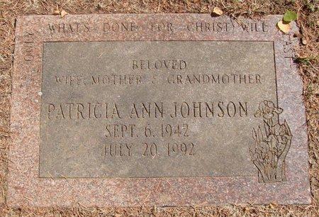 JOHNSON, PATRICIA ANN - Polk County, Oregon   PATRICIA ANN JOHNSON - Oregon Gravestone Photos