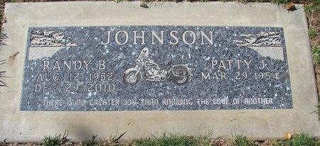 JOHNSON, RANDY BRIAN - Polk County, Oregon | RANDY BRIAN JOHNSON - Oregon Gravestone Photos