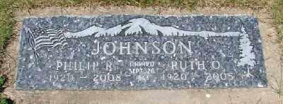 JOHNSON, PHILIP RAY - Polk County, Oregon | PHILIP RAY JOHNSON - Oregon Gravestone Photos