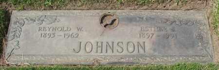 JOHNSON, ESTHER J - Polk County, Oregon   ESTHER J JOHNSON - Oregon Gravestone Photos