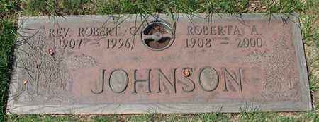 JOHNSON, ROBERT C - Polk County, Oregon | ROBERT C JOHNSON - Oregon Gravestone Photos