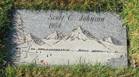 JOHNSON, SCOTT C - Polk County, Oregon | SCOTT C JOHNSON - Oregon Gravestone Photos
