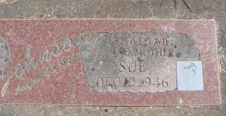 JOHNSON, SUE - Polk County, Oregon | SUE JOHNSON - Oregon Gravestone Photos
