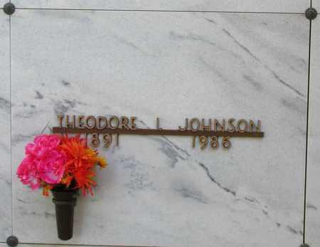 JOHNSON, THEODORE I - Polk County, Oregon | THEODORE I JOHNSON - Oregon Gravestone Photos