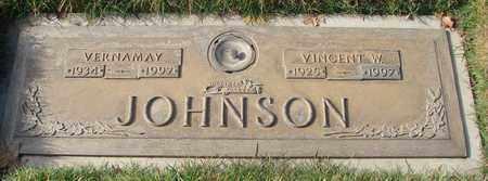 JOHNSON, VINCENT WILLIAM - Polk County, Oregon | VINCENT WILLIAM JOHNSON - Oregon Gravestone Photos