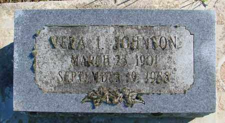 JOHNSON, VERA - Polk County, Oregon | VERA JOHNSON - Oregon Gravestone Photos