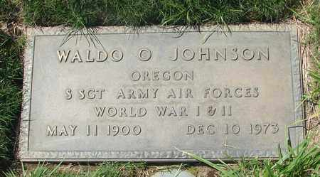 JOHNSON, WALDO O - Polk County, Oregon   WALDO O JOHNSON - Oregon Gravestone Photos
