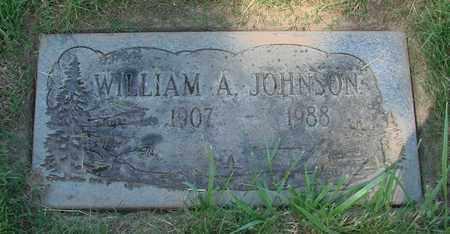 JOHNSON, WILLIAM A - Polk County, Oregon   WILLIAM A JOHNSON - Oregon Gravestone Photos