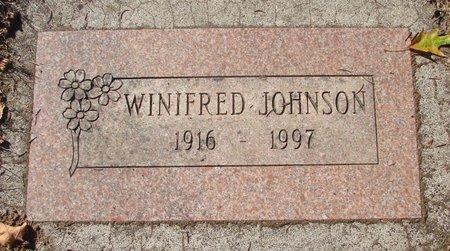 JOHNSON, WINIFRED CORNELLA - Polk County, Oregon | WINIFRED CORNELLA JOHNSON - Oregon Gravestone Photos