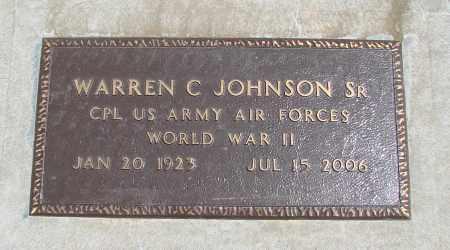 JOHNSON, WARREN C, SR - Polk County, Oregon | WARREN C, SR JOHNSON - Oregon Gravestone Photos