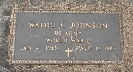 JOHNSON, WALDO C - Polk County, Oregon | WALDO C JOHNSON - Oregon Gravestone Photos
