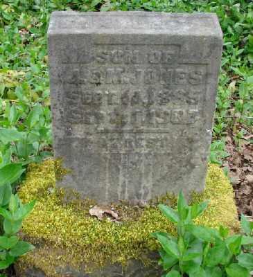 JONES, CHARLES A - Polk County, Oregon   CHARLES A JONES - Oregon Gravestone Photos