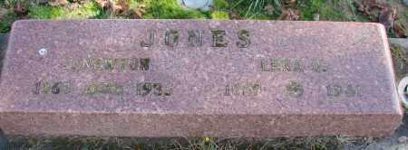 JONES, J NEWTON - Polk County, Oregon | J NEWTON JONES - Oregon Gravestone Photos