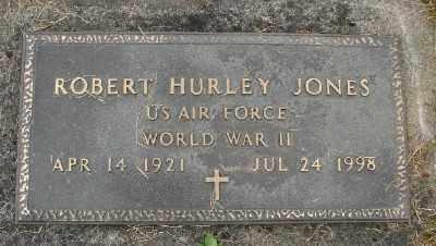 JONES (WWII), ROBERT HURLEY - Polk County, Oregon | ROBERT HURLEY JONES (WWII) - Oregon Gravestone Photos