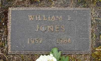 JONES, WILLIAM L - Polk County, Oregon | WILLIAM L JONES - Oregon Gravestone Photos