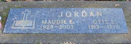 JORDAN, MAUDIE E - Polk County, Oregon | MAUDIE E JORDAN - Oregon Gravestone Photos