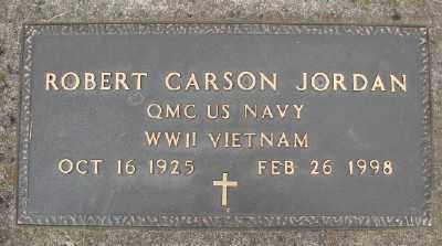 JORDAN (WWII), ROBERT CARSON - Polk County, Oregon | ROBERT CARSON JORDAN (WWII) - Oregon Gravestone Photos