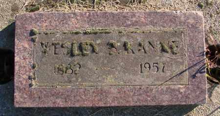 KANNE, WESLEY B - Polk County, Oregon | WESLEY B KANNE - Oregon Gravestone Photos