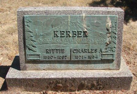 RITNER KERBER, RITTIE ELLEN - Polk County, Oregon | RITTIE ELLEN RITNER KERBER - Oregon Gravestone Photos